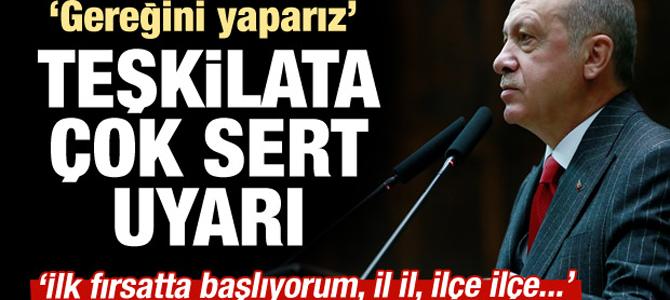 AK Parti teşkilatlarına sert uyarı!