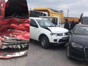 Tuzla'da zincirleme trafik kazası! Polis ateş açtı..