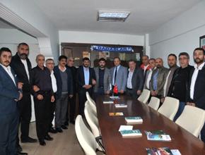 MHP Erzurum İl Başkanı Naim Karataş Pendik'te