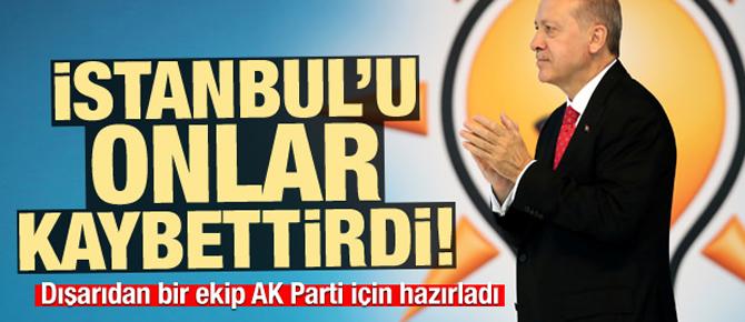 İstanbul'u onlar kaybettirdi!