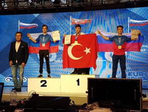 Pendikli Ümitcan Kaya Avrupa Şampiyonu!