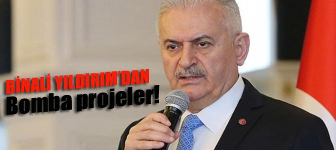 Binali Yıldırım'dan  bomba İstanbul projeleri