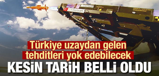 Türkiye Uzaydan gelen tehditleri yok edecek