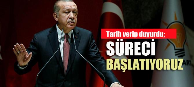 Erdoğan tarih verdi; Teşkilatlarda değişim başlıyor