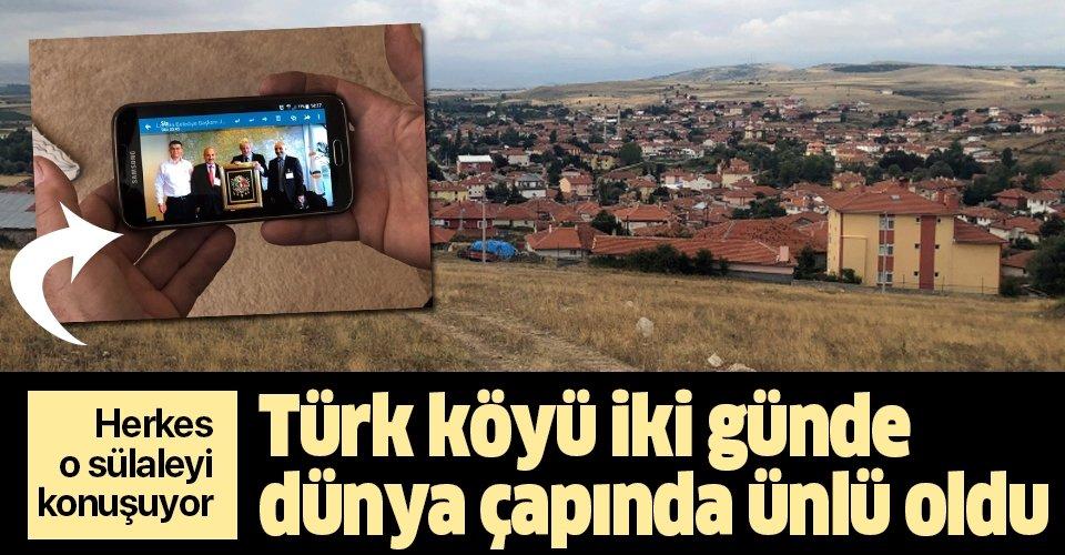 Türk köyü iki günde dünya çapında ünlü oldu.