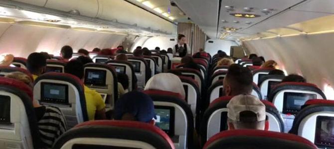 Uçağın pilotu öyle bir anans yapktı ki! kimse beklemiyordu