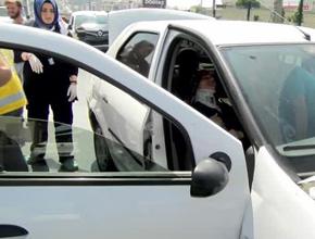 Pendik'te zincirleme trafik kazası; Yaralılar var