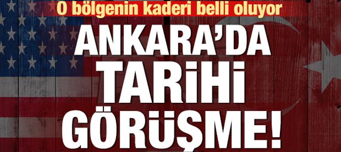 Ankara'da tarihi görüşme..