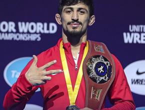 Kerem Kamal 3. Kez Dünya Şampiyonu