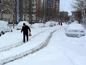 Donduran Kış geliyor. İstanbul haftalarca kar altında kalabilir