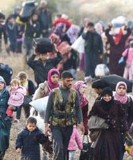 200 binden fazla Suriyeli Türkiye sınırına dayandı