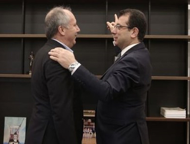 İmamoğlu cephesinden Muharrem İnce'ye Cumhurbaşkanlığı adaylığı için şok cevap!