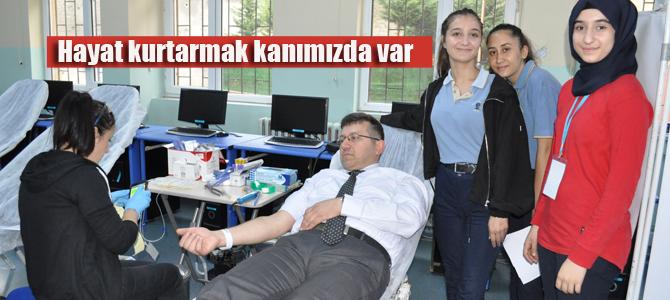 Hayat kurtarmak  kanımızda var