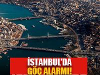 İstanbul'da göç alarmı!