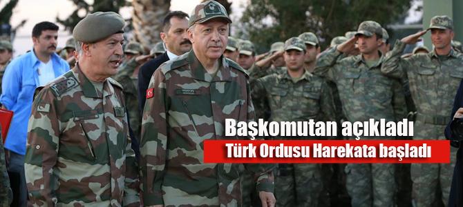 Başkan Erdoğan açıkladı: Barış Pınarı harekatı resmen başladı!