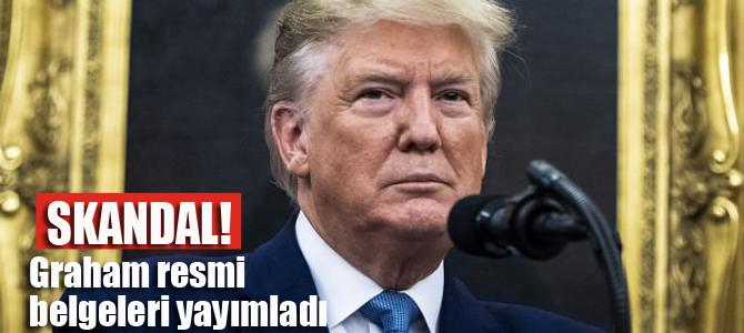 Trump'tan bir Türkiye skandalı daha!