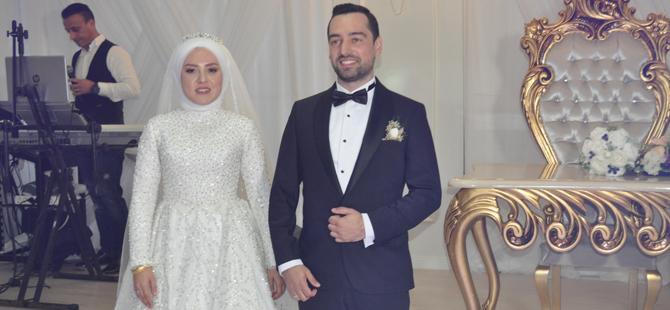 Şenel Korkmaz kızını evlendirdi