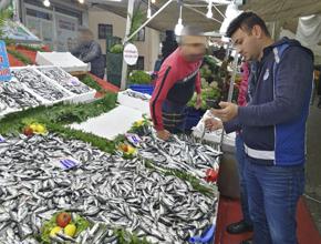 Zabıta Ve İlçe Tarım'dan Balık Denetimi