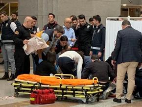 İstanbul Adalet Sarayı'nda intihar