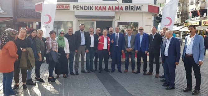 MHP'den Barışpınarı için kan bağışı