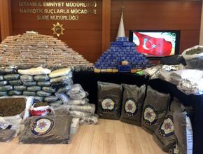 Pendik'te 510 kilo uyuşturucu madde ele geçirildi