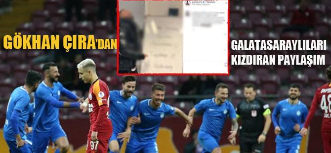 Tuzlaspor maçı sonrası Galatasaraylıları kızdıran paylaşım