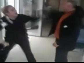Müdür, kadın çalışanlara saldırdı