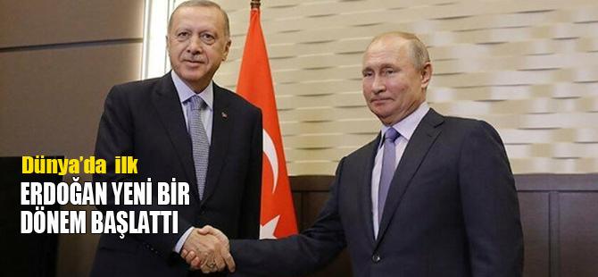 Erdoğan yeni bir dönemi başlattı: Dünyada bir ilk