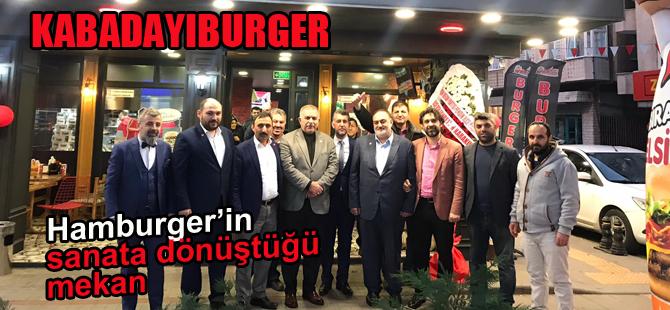 Burger'in sanata dönüştüğü mekan Kaynarca'da hizmete girdi