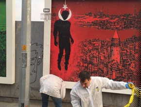 İstanbul'u karıştıran afiş!