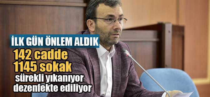 Ahmet Cin, Önlemlerimizi ilk günden aldık! Türkiye'ye örnek olduk