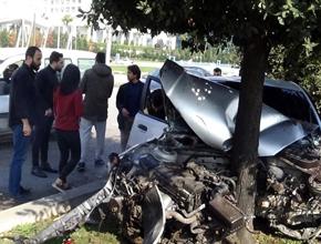 Pendik'te feci kaza:Yaralılar var