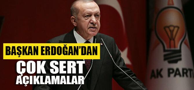 Erdoğan; Alçaklar, saygısızca