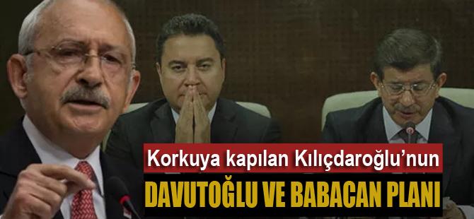 Kılıçdaroğlu'nun Davutoğlu ve Babacan planı