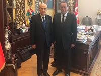 Alaattin Çakıcı, MHP lideri Devlet Bahçeli'yi ziyaret etti