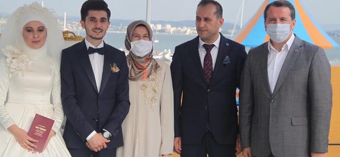 Metin Çangır kızını evlendirdi