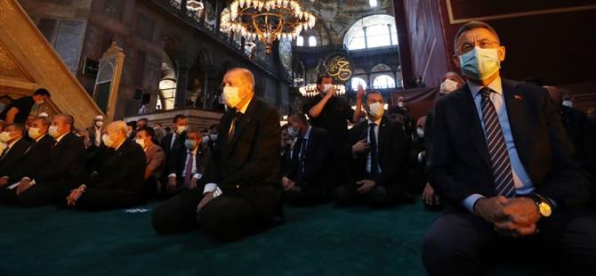 Başkan Erdoğan'dan Ayasofya sonrası sürpriz ziyaret
