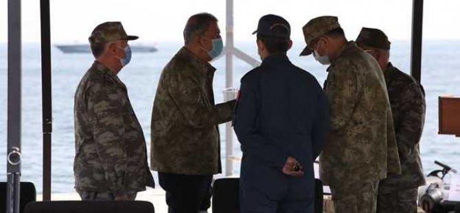 Savunma Bakanı Hulusi Akar önemli son dakika açıklamalarında bulundu