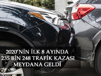 Bin 450 kişiyi trafik kazalarında kaybettik