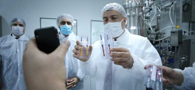 Yerli koronavirüs aşısından yeni görüntüler!