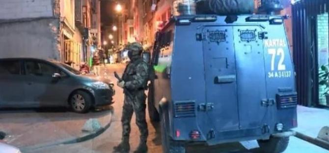 İstanbul'da büyük operasyon! Çok sayıda gözaltı var..