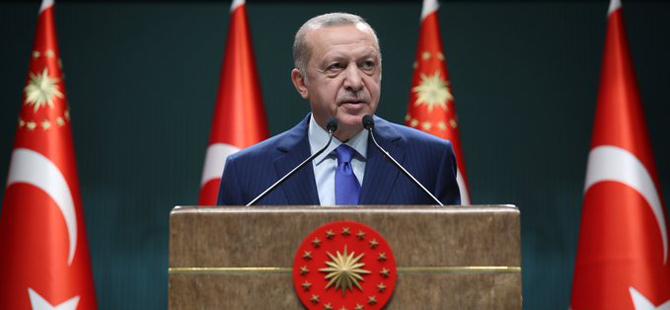 Tayyip Erdoğan'dan Amerika Birleşik Devletlerine rest!