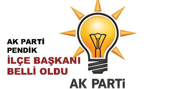 İşte merakla beklenen AK Parti Pendik İlçe Başkanı