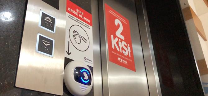 Türkiye'de bir ilk! Pendik'te yapay zekalı asansör