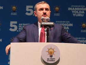 """AK Parti İl Başkanı; """" İBB'de algı var, reklam var, icraat yok"""""""