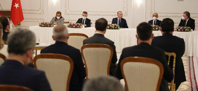 """Erdoğan, """"Ülkemizi yüksek teknoloji üssü yapacağız"""""""