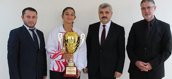 Pendikli Feyzanur Utlu Avrupa Kupası Şampiyonu