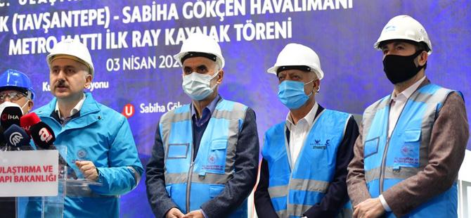 Pendik-Sabiha Gökçen Metrosu'nda önemli gelişme