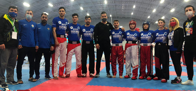 Pendikli Burkay Güven Avrupa Şampiyonu