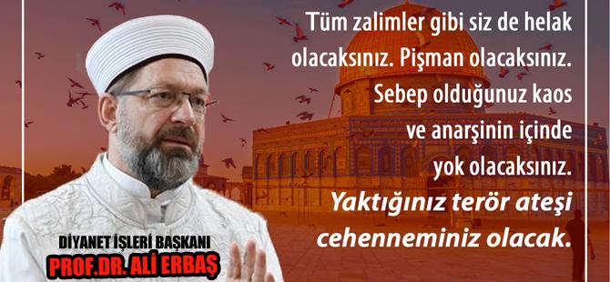 Ali Erbaş'tan önemli çağrı!